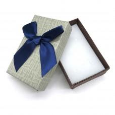 Коробочка подарочная 5х8 см. Цвет: серый. Артикул: 4-0.