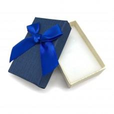 Коробочка подарочная 5х8 см. Цвет: синий. Артикул: 5-0.