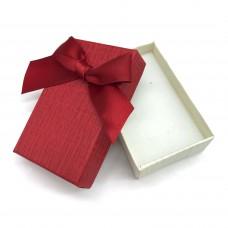 Коробочка подарочная 5х8 см. Цвет: красный. Артикул: 6-0.
