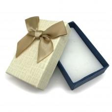 Коробочка подарочная 5х8 см. Цвет: бежевый. Артикул: 7-0.