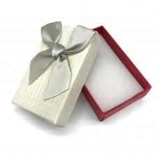 Коробочка подарочная 5х8 см. Цвет: ванильный. Артикул: 8-0.