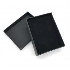 Коробочка подарочная 7х9 см. Цвет: черный. Артикул: 9-0.
