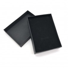 Коробочка подарочная 8х11 см. Цвет: черный. Артикул: 10-0.