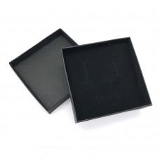 Коробочка подарочная 9х9 см. Цвет: черный. Артикул: 11-0.