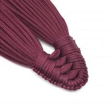 Плетеная кисть из нейлонового шнура. Цвет: вишневый. Артикул: 3.