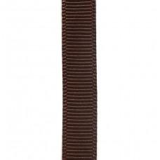 Лента репсовая 9 мм. Цвет: шоколадный. Артикул: РЛ-855.