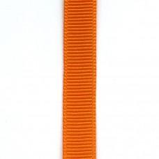 Лента репсовая 9 мм. Цвет: оранжевый. Артикул: РЛ-668.