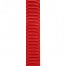 Лента репсовая 9 мм. Цвет: красный. Артикул: РЛ-252.