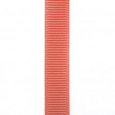 Лента репсовая 9 мм. Цвет: коралловый. Артикул: РЛ-238.