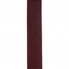Лента репсовая 9 мм. Цвет: темно-бордовый. Артикул: РЛ-793.