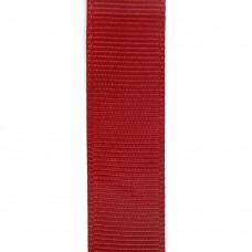 Лента репсовая 15 мм. Цвет: бордовый. Артикул: РЛ15-260.