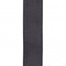 Лента репсовая 15 мм. Цвет: темно-серый. Артикул: РЛ15-077.
