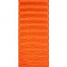 Лента репсовая 25 мм. Цвет: оранжевый. Артикул: Р25-751.