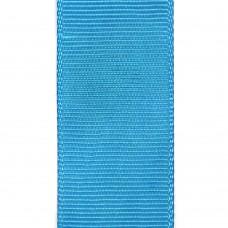 Лента репсовая 25 мм. Цвет: голубой. Артикул: Р25-328.