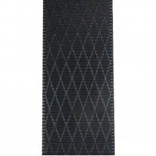 Лента репсовая 25 мм. Цвет: черный. Артикул: Р25-030.
