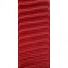 Лента репсовая 25 мм. Цвет: бордовый. Артикул: Р25-260.