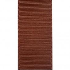Лента репсовая 25 мм. Цвет: коричневый. Артикул: Р25-8--