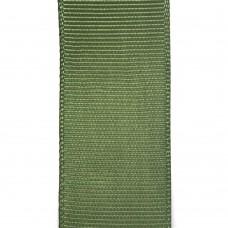 Лента репсовая 25 мм. Цвет: травяной. Артикул: Р25-570.