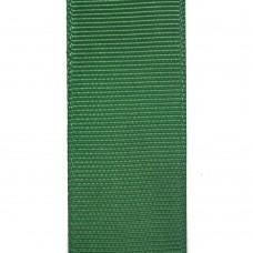 Лента репсовая 25 мм. Цвет: зеленый. Артикул: Р25-587.