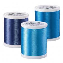 Синяя палитра Madeira Rayon 40 (19)