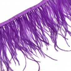Перьевая лента. Цвет: фиолетовый. Артикул: 15