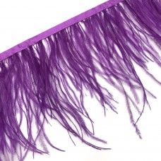 Перьевая лента. Цвет: фиолетовый. Артикул: 34