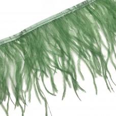 Перьевая лента. Цвет: травяный. Артикул: 32