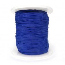 Шнур нейлоновый. Цвет: синий. Артикул: ШП-24