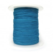 Шнур нейлоновый. Цвет: светло-синий. Артикул: ШП-23