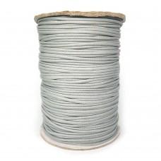 Шнур вощеный синтетический 1,5 мм. Цвет: серый. Артикул: В-1