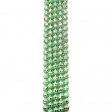 Цепи шарики с позолоченными гранями. 1,5 мм. Цвет: светло-зеленый. Артикул: ЦГ-15.