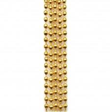 Цепочка с шариками. Желтое золото. Артикул: ЦШ-14.