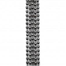 Цепочка с шариками. Темное серебро. Артикул: ЦШ-8.
