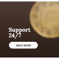 Поддержка 24 часа и 7 дней в неделю