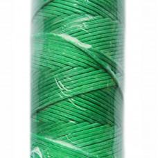 Вощеные нитки. Цвет: ярко-зеленый. Артикул: 931